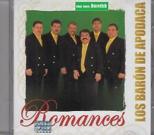 Los Baron de Apodaca Romances CD New Nuevo sealed
