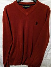 Mens US Polo Large Mauve/Red Sweater