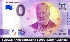 UE HJ-2 / VICTOR HUGO / BILLET SOUVENIR 0 € / 0 € BANKNOTE 2020-2*