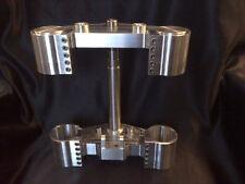 Yamaha Vmax Billet THUG Style Fork Yokes - USD Legs - Triple Trees