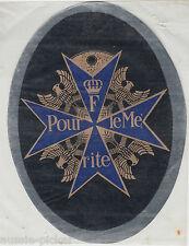 Pour le Mérite Blue Max Decal