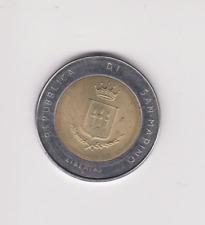 SAN MARINO 1983 500 Lira coin uncirculated.O.211