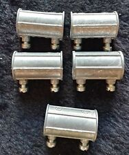 """TPG - Dual Sided Set Screw Connector Pipe Conduit Electrical 1 1/2 x 3/4"""" (5)"""