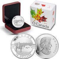 2014 O Canada 1/2 oz Silver $10 - Cowboy