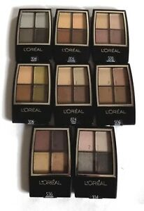 L'Oreal Studio Secrets Quad Eyeshadow Palette Pick A Shade Brown Pink Grey Nude