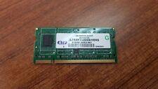 LOT OF 2 PCS. ATP AZ64K64B8BHE6S 512MB DDR2-667 UNBUFFERED NON ECC SO-DIMM