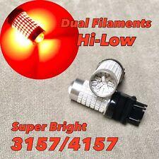 Brake Stop Tail Light RED CANBUS X1 LED Bulb T25 3057 3157 4157 CK W1 HA
