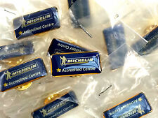Michelin 'Accredited Centre' Pin Badge - Lot of 5 - Genuine New Old Stock
