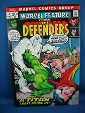 MARVEL FEATURE 3 THE DEFENDERS VF NM 1972