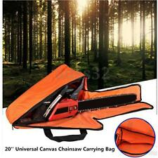20'' Oxford Chainsaw Chain Saw Carrying Bag Case Protective Holdall Box Portable