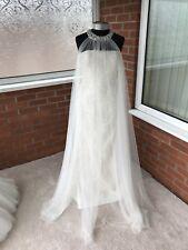 VICTORIA JANE BY RONALD JOYCE WEDDING DRESS IVORY SIZE UK 12 (ONE ONLY)