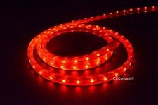 CBConcept® UL Listed,100 Feet,10100 Lumen,Red,120 Volt Flat LED Strip Rope Light