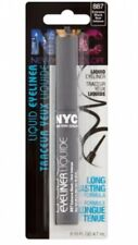 N.Y.C. NYC NEW YORK COLOR LIQUID EYELINER - EXTREME BLACK 887 New Sealed