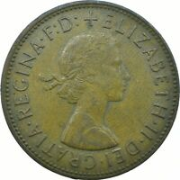 1967 ONE PENNY OF ELIZABETH II. /One Penny Bronze    #WT20369