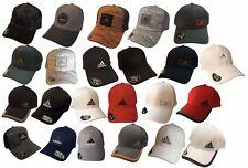 Adidas Climalite Flex Fit Stretchable Baseball Hat Cap-Moisture Management