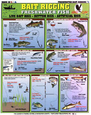 "Lot of 4 - How to Catch ""em"" - FRESHWATER - Tightlines Charts #1, #3, #4, & #13"