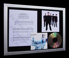RADIOHEAD No Surprises TOP QUALITY CD MUSIC FRAMED DISPLAY-EXPRESS GLOBAL SHIP!!