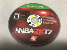 NBA 2K17 Microsoft Xbox One Standard Edition Game Disc Only Without Case