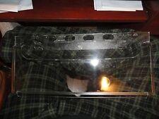 "NEW REFRIGERATOR MEAT Plastic WINDOW CRISPER SHELF PART 2174076, 7-3/8""x16-3/8"""