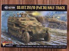 Bolt Action: German SD.KFZ 251/10 PAK 36 Half-Track