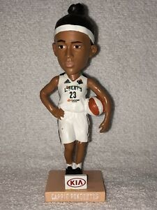 "WNBA Cappie Pondexter New York Liberty 7"" Bobblehead 6/22/2014 Basketball SGA"