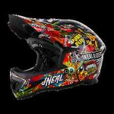 CASCO MTB DOWNHILL DH SPORT O'NEAL Warp Fidlock Helmet CRANK black/multi