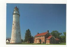 Fort Gratiot Lighthouse Lake Huron Postcard USA 409a ^