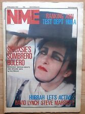 NME 15 DEC 1984 SIOUXSIE & THE BANSHEES HURRAH! SPANDAU BALLET TEST DEPT HULA