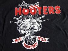 HOOTERS Lansing Illinois HOG WILD BIKER RALLY SHIRT XL harley davidson patriotic