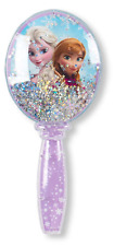 "TOWNLEY* 7"" Disney FROZEN Plastic HAIR BRUSH Anna+Elsa CONFETTI SNOW GLOBE New!"