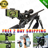 Universal Mobile Phone Holder Spotting Scope Cellphone Adapter Mount Rifle Scope
