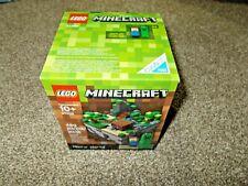 LEGO Minecraft Micro World 21102 NEW set  480 pieces STEVE & CREEPER micromobs