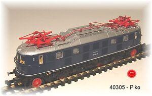 Piko 40305 E-Lok BR 118 der DB blau #NEU in OVP#