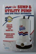 Rule 110 Volt Automatic Pump 1800 GPH Submersible - A53S