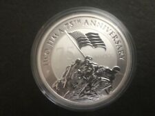 2020 Tuvalu $1 75th. Anniversary Battle of Iwo Jima Silver Bullion Coin