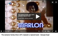 The JACKSONS 1976-7 Variety show original titles: MARLON COA Michael Jackson