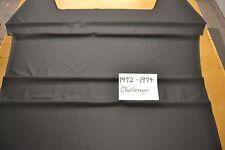 1972 72 1973 73 1974 74 DODGE CHALLENGER HEADLINER 4 BOW BLACK TIER USA MADE