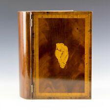 Vtg Maitland Smith Inalid Shell Mahogany Faux Book Form Remote Control Box Kpb