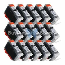 15 PGI-5 Black PGI-5 PGI-5BK Compatible Ink Cartridge for Canon Printer PGI-5 BK