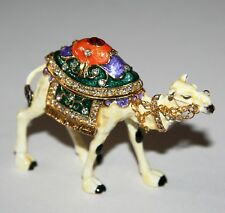 More details for walking camel trinket box / ornament gift *new* boxed