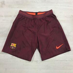 Nike Barcelona FC Vapor Match Strike Football Shorts, 847191-681 Sz M Aeroswift
