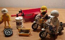 FORET Remorque Rouge du Bucheron 3743 pour Vélo /& Moto PLAYMOBIL X401