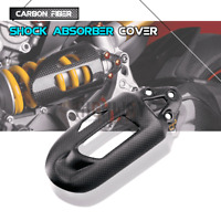 Carbon SHOCK SPRING Absorber COVER For Ducati Panigale V2 899 959 1199 1299