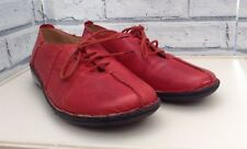 Red Ladies Pavers Lace Ups, Extremely Light Weight, Super Comfortable