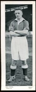 Trade Card, Topical Times, FOOTBALLERS, 1934, 250 x 95, Dick Spence, Chelsea