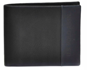 US Polo Assn WEUVL2242MHAM93 Centr. H Wallet Coin Flap Men's Wallet Leather