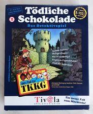 TKKG: Tödliche Schokolade, PC-Spiel von Tivola, OVP, TOP!