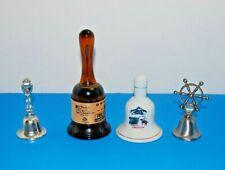 Lot of 4 Oregon Souvenir Bells - Vintage