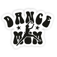 Dance Mum Printed Car Sticker Vinyl Shaped Sticker Car Window