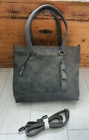 Fritzi aus Preußen Damen Handtasche Vintage Grau
